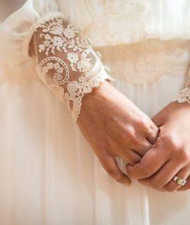 El encaje en los vestidos de novia