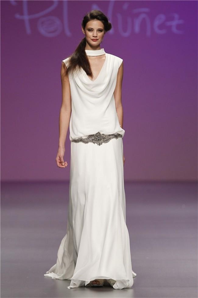 Cibeles Madrid Fashion Week – Colección 2014 – PolNunez_Novias
