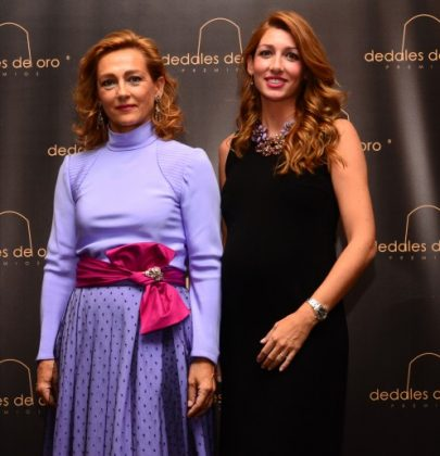 Pol Núñez en la ceremonia de los premios Dedales de Oro