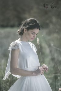 Vestido de novia en dos piezas copia