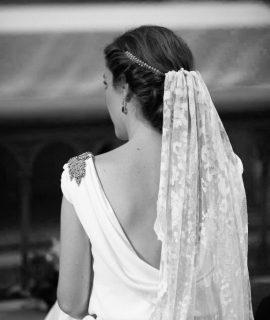 Inspiración velo y tocado para novias Pol Núñez
