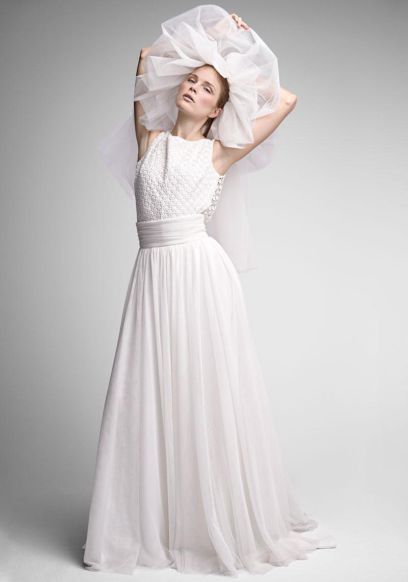 Vestidos de novia en color natural